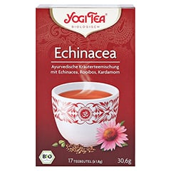 YOGI TEA Echinacea Bio Filterbeutel 17x1.8 Gramm - Vorderseite