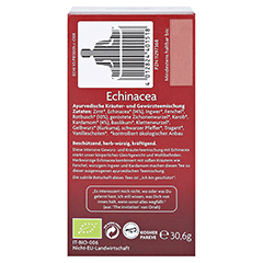 YOGI TEA Echinacea Bio Filterbeutel 17x1.8 Gramm - Linke Seite