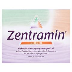 ZENTRAMIN liquid Trinkfläschchen 14x25 Milliliter - Vorderseite