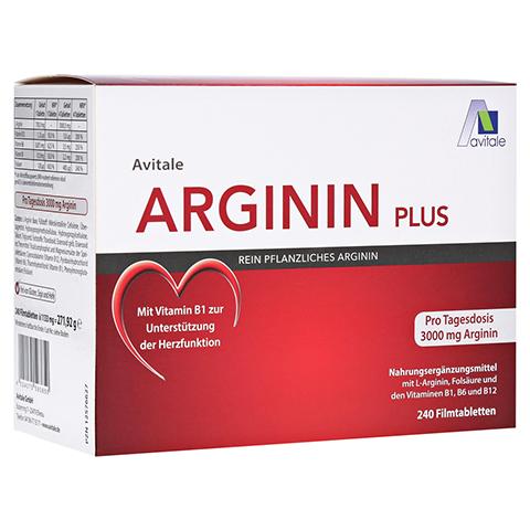 Avitale Arginin Plus 240 Stück