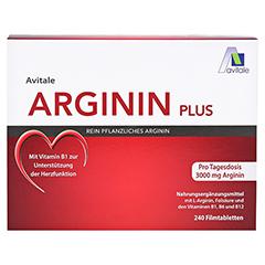 Avitale Arginin Plus 240 Stück - Vorderseite