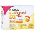 EUNOVA DuoProtect D3+K2 1000 I.E./80 µg Kapseln 30 Stück