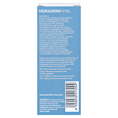 HIDRADERM Hyal liposomales Serum 30 Milliliter - Rückseite