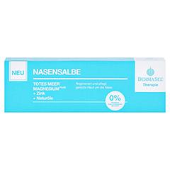 DERMASEL Therapie Totes Meer Nasensalbe 10 Milliliter - Vorderseite