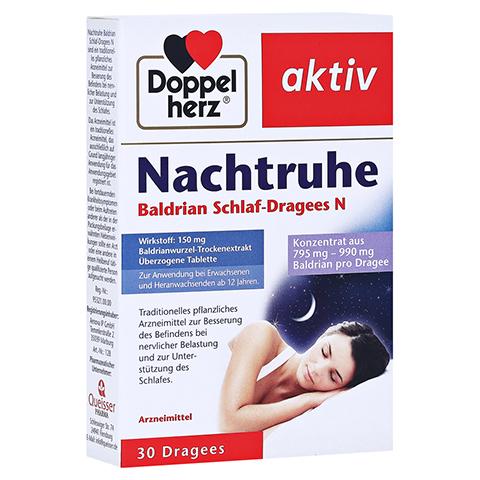 Doppelherz Nachtruhe Baldrian Schlaf-Dragees N 30 Stück