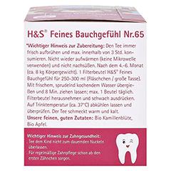 H&S Bio Baby- u.Kindertee Feines Bauchgefühl Fbtl. 20x1.5 Gramm - Linke Seite