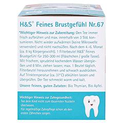 H&S Bio Baby- u.Kindertee Feines Brustgefühl Fbtl. 20x1.2 Gramm - Linke Seite