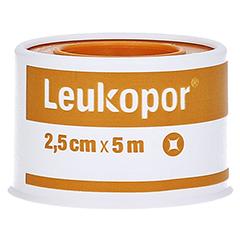 Leukopor 2,5 cmx5 m 1 Stück - Vorderseite
