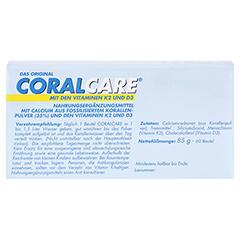 CORALCARE 2-Monatspackung Pulver 60x1.5 Gramm - Rückseite