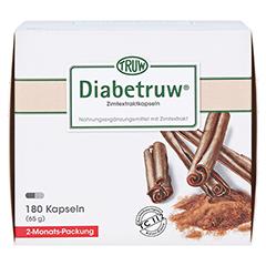 Diabetruw Zimtkapseln 180 Stück - Vorderseite