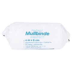 Mullbinden elastisch 6 cm mit Cellophan 1 Stück