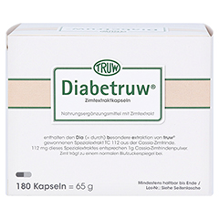 Diabetruw Zimtkapseln 180 Stück - Oberseite