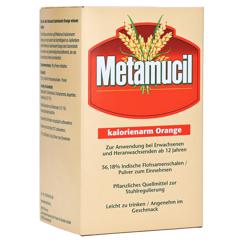 Metamucil Plantago Psyllium hilft beim Abnehmen