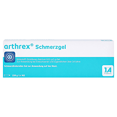 Arthrex Schmerzgel 150 Gramm N3 - Vorderseite