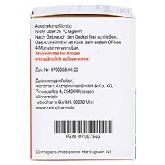 Pankreatin Mikro-ratiopharm 20000 50 Stück N1 - Rechte Seite