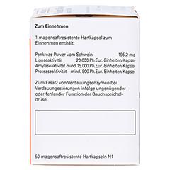 Pankreatin Mikro-ratiopharm 20000 50 Stück N1 - Linke Seite