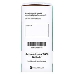 Antiscabiosum 10% für Kinder 200 Gramm N3 - Rechte Seite