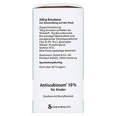 Antiscabiosum 10% für Kinder 200 Gramm N3 - Linke Seite