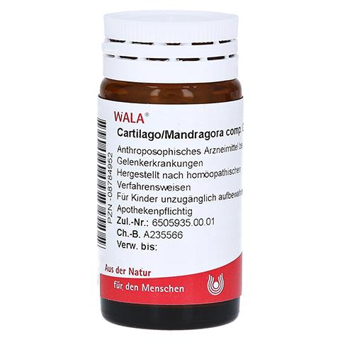 CARTILAGO/Mandragora comp.Globuli 20 Gramm N1