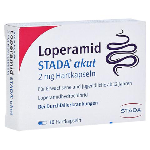 Loperamid STADA akut 2mg 10 Stück N1