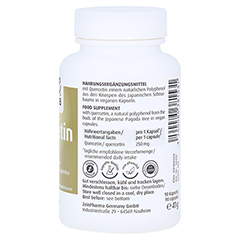 Quercetin Kapseln 250 mg 90 Stück - Rechte Seite