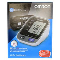 OMRON M500IT Oberarm Blutdruckmessgerät 1 Stück - Vorderseite