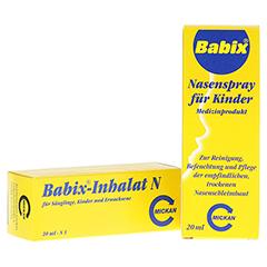 Babix-Inhalat N + gratis Babix Nasenspray 20 Milliliter N1