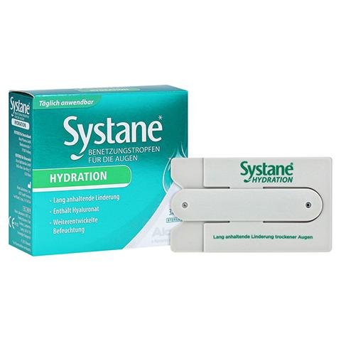 SYSTANE Hydration Benetzungstropfen für die Augen + gratis Systane Smartphone-Tasche 3x10 Milliliter