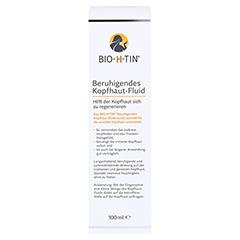 BIO-H-TIN beruhigendes Kopfhaut-Fluid 100 Milliliter - Rückseite