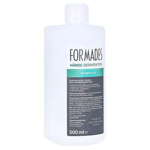 FORMADES Derm Plus Händedesinfektion Spenderfla. 500 Milliliter