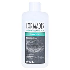 FORMADES Derm Plus Händedesinfektion Spenderfla. 500 Milliliter - Vorderseite