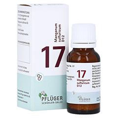 BIOCHEMIE Pflüger 17 Manganum sulfuricum D 12 Gl. 15 Gramm N1