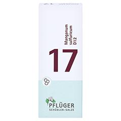 BIOCHEMIE Pflüger 17 Manganum sulfuricum D 12 Gl. 15 Gramm N1 - Vorderseite