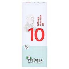 BIOCHEMIE Pflüger 10 Natrium sulfuricum D 6 Glob. 15 Gramm N1 - Vorderseite