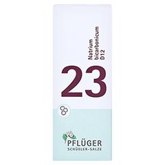 BIOCHEMIE Pflüger 23 Natrium bicarbonicum D 12 Gl. 15 Gramm N1 - Vorderseite