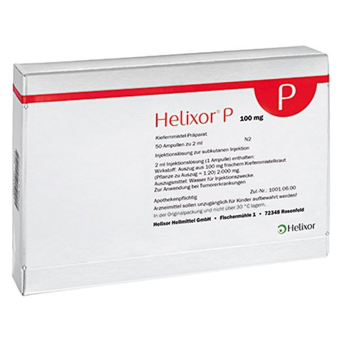 HELIXOR P Ampullen 100 mg 50 Stück N2