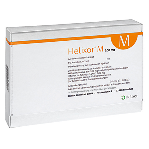 HELIXOR M Ampullen 100 mg 50 Stück N2