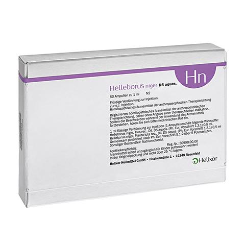 HELLEBORUS NIGER D 5 aquos.Ampullen 50 Stück N2