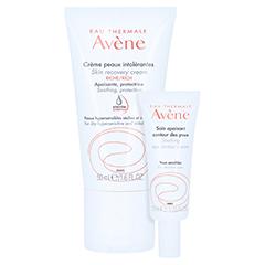 Avène Creme für überempfindliche Haut reichhaltig + gratis AVENE beruhigende Augencreme 10 ml 50 Milliliter