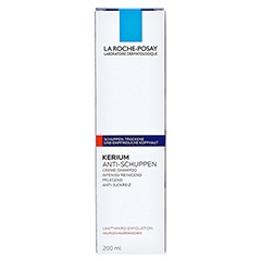 ROCHE POSAY Kerium trockene Haut Cremeshampoo 200 Milliliter - Vorderseite