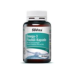 SOVITA CARE Omega-3 Fischöl-Kapseln 220 Stück