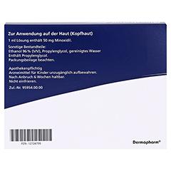 MINOXICUTAN Männer 50 mg/ml Spray 3x60 Milliliter - Rückseite