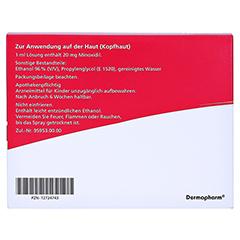 MINOXICUTAN Frauen 20 mg/ml Spray 3x60 Milliliter - Rückseite