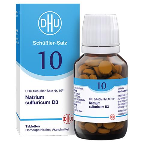 BIOCHEMIE DHU 10 Natrium sulfuricum D 3 Tabletten 200 Stück N2