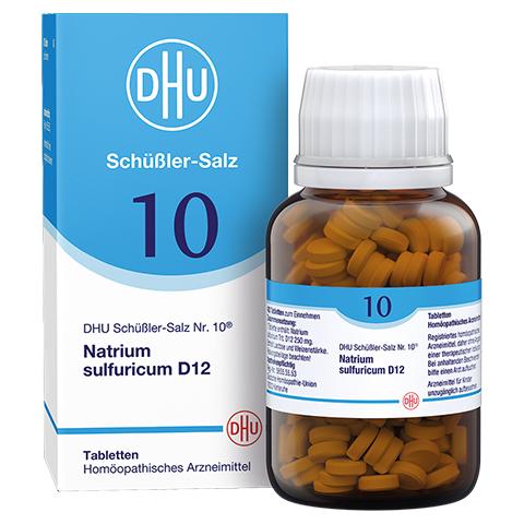 BIOCHEMIE DHU 10 Natrium sulfuricum D 12 Tabletten 420 Stück N3