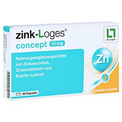 ZINK-LOGES concept 15 mg magensaftres.Kapseln 30 Stück