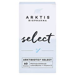 ARKTIS Arktibiotic select Pulver 60 Gramm - Vorderseite