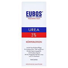 EUBOS TROCKENE Haut Urea 3% Körperlotion 200 Milliliter - Vorderseite