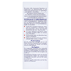 EUBOS TROCKENE Haut Urea 5% Waschlotion 200 Milliliter - Rückseite