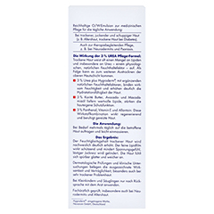 EUBOS TROCKENE Haut Urea 3% Körperlotion 200 Milliliter - Rückseite